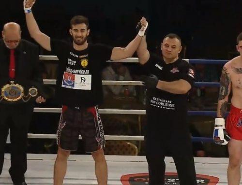 Costin Mincu a câștigat la Constanța centura mondială WKF (rezultate + galerie foto)