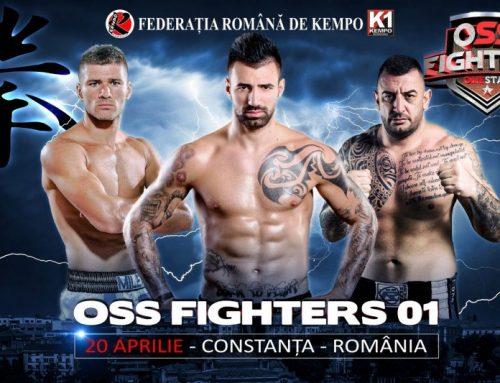 """Oss Fighters! Gală explozivă la Constanţa, cu Bogdan Stoica, Marian Rusu şi Cristian """"The Fastest"""" Milea în prim-plan"""
